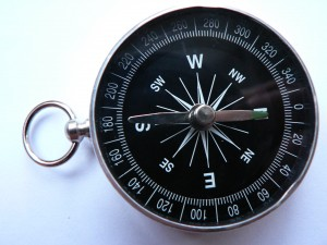 old survey compass